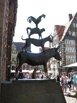 Schnoor, Marktplatz in Bremen