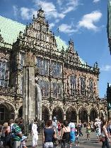 chnoor, Marktplatz in Bremen