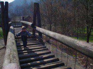 Abenteuerspielplatz in Sieber