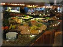 Frühstücksbuffet im Allvitalis
